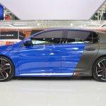 Peugeot 308 R HYbrid concept profile at 2016 Bologna Motor Show