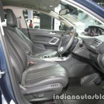 Peugeot 408 e-THP front seats at 2016 Thai Motor Expo