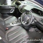 Peugeot 408 e-THP interior at 2016 Thai Motor Expo