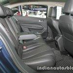 Peugeot 408 e-THP rear seats at 2016 Thai Motor Expo