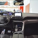 Peugeot 5008 dashboard at Bologna Auto Show