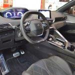 Peugeot 5008 interior at Bologna Auto Show