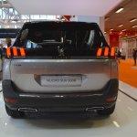 Peugeot 5008 rear fascia at Bologna Auto Show