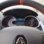 Renault Clio R.S. Trophy 220 instrument panel front view at 2016 Bologna Motor Show