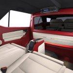Toyota Fortuner DC Design interiors red