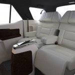 Toyota Fortuner DC Design interiors white