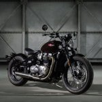 Triumph Bobber front three quarter