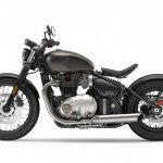 Triumph Bobber side