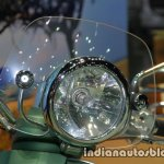 Vespa LVX150 3Vie Safari headlamp at Thai Motor Expo