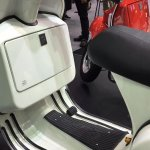 Vespa PX125 footboard at Thai Motor Expo