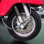 Vespa PX125 front wheel at Thai Motor Expo