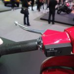 Vespa PX125 gearshift at Thai Motor Expo