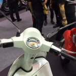 Vespa PX125 instrumentation at Thai Motor Expo