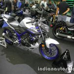Yamaha MT-03 front three quarter at Thai Motor Expo