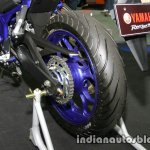 Yamaha MT-03 rear wheel at Thai Motor Expo