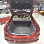 2017 Audi A5 Sportback boot at 2017 Vienna Auto Show