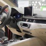 2017 Audi A5 Sportback dashboard at 2017 Vienna Auto Show