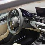 2017 Audi A5 Sportback dashboard driver side at 2017 Vienna Auto Show
