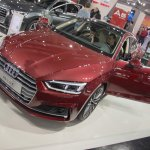 2017 Audi A5 Sportback front three quarters at 2017 Vienna Auto Show