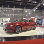 2017 Audi A5 Sportback front three quarters left side at 2017 Vienna Auto Show