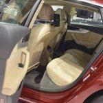 2017 Audi A5 Sportback rear cabin at 2017 Vienna Auto Show