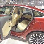 2017 Audi A5 Sportback rear cabin second image at 2017 Vienna Auto Show