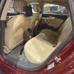 2017 Audi A5 Sportback rear seats at 2017 Vienna Auto Show
