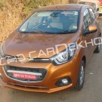 2017 Chevrolet Beat front three quarters undisguised spy shot