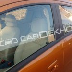 2017 Chevrolet Beat interior seats spy shot