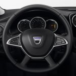 2017 Dacia Lodgy Stepway steering wheel introduced
