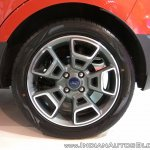2017 Ford Ecosport Platinum 17-inch alloy wheel at APS 2017