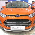 2017 Ford Ecosport Platinum front view at APS 2017