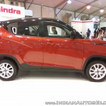 2017 Mahindra KUV100 anniversary edition dual tone side