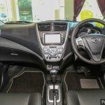 2017 Perodua Axia (facelift) dashboard