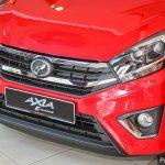 2017 Perodua Axia (facelift) front fascia