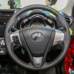 2017 Perodua Axia (facelift) steering wheel