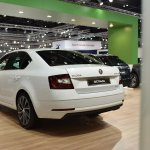 2017 Skoda Octavia (facelift) rear three quarters at 2017 Vienna Auto Show