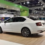 2017 Skoda Octavia (facelift) rear three quarters left side at 2017 Vienna Auto Show