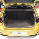 2017 VW Golf (facelift) boot at 2017 Vienna Auto Show