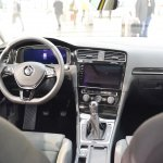 2017 VW Golf (facelift) dashboard at 2017 Vienna Auto Show