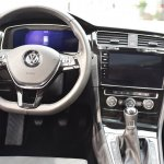 2017 VW Golf (facelift) dashboard driver side at 2017 Vienna Auto Show