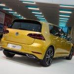 2017 VW Golf (facelift) rear three quarters at 2017 Vienna Auto Show