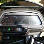 Bajaj Dominar 400 digital instrumentation daylight