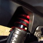 Bajaj Dominar 400 rear suspension