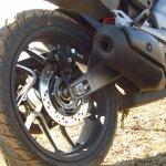 Bajaj Dominar 400 rear tyre