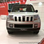 Mahindra TUV300 Dual Tone front at Autocar Performance Show 2017
