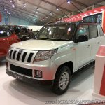 Mahindra TUV300 Dual Tone front three quarters at Autocar Performance Show 2017