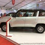 Mahindra TUV300 Dual Tone profile at Autocar Performance Show 2017