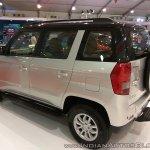 Mahindra TUV300 Dual Tone rear three quarters at Autocar Performance Show 2017