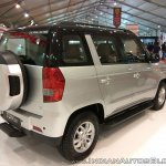 Mahindra TUV300 Dual Tone rear three quarters right side at Autocar Performance Show 2017